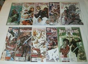 Defenders  (vol. 4, 2011)   #1-6,9-12 (set of 10) Fraction/Dodson