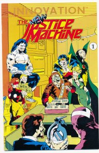 New Justice Machine (1989) #1 VF