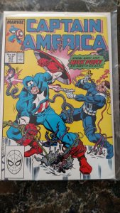 Captain America #351 (Marvel,1989) Condition NM