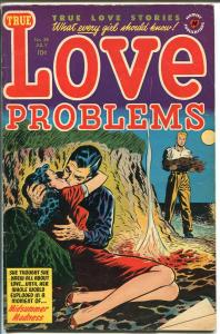 True Love Problems  #28 1954-women in jail-Bob Powell-spicy Elias cover-VG/FN