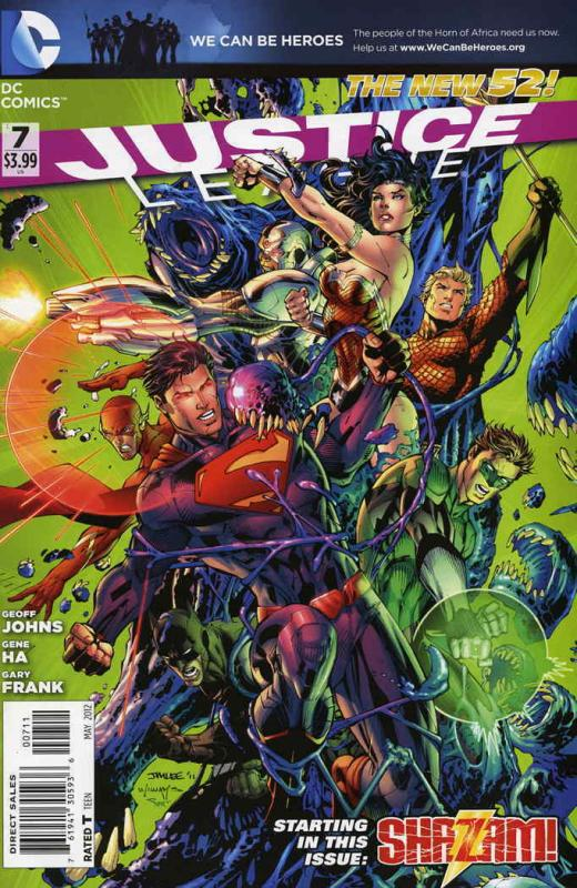 Justice League (2nd Series) #7 VF/NM; DC | save on shipping - details inside