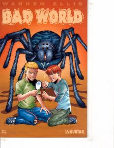 Lot Of 2 Comic Books Avatar Bad World #3 and Archie & Friends and Shield  MS20