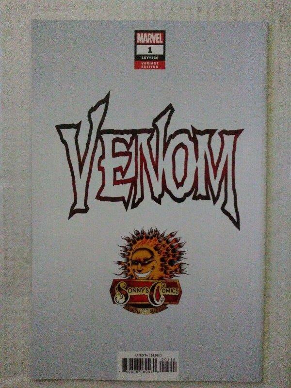 VENOM #1 NM Sonny's Comics Exclusive Mark Bagley Variant Exclusive Spider-Man