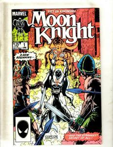 11 Moon Knight Marvel Comic Books #1 2 3 4 5 6, #1 2 3 4 9 JF25