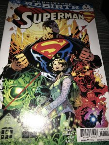 DC Rebirth Superman #1 Mint
