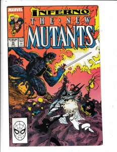 THE NEW MUTANTS# 71  INFERNO NEW MUTANT MOVE NO RESERVE SAVE ON SHIPPING
