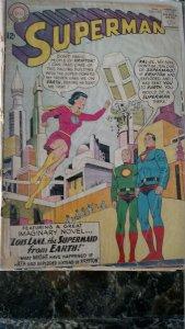 Superman #159 (DC,1963) Condition Poor