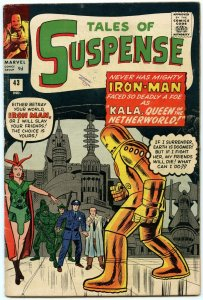 Tales of Suspense 43 Jul 1963 (UK price variant) VG (4.0)
