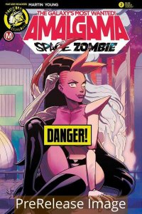 AMALGAMA SPACE ZOMBIE GALAXYS MOST WANTED (2020 ACTION LAB) #2 VAR PRESALE-09/16