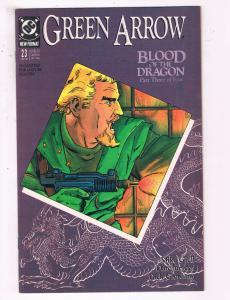 Green Arrow #23 VF DC Comics Arrow TV Show Comic Book Grell DE21