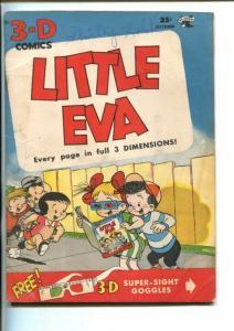 LITTLE EVA  #11-ST JOHN-1953-3-D-GLASSES-good/vg