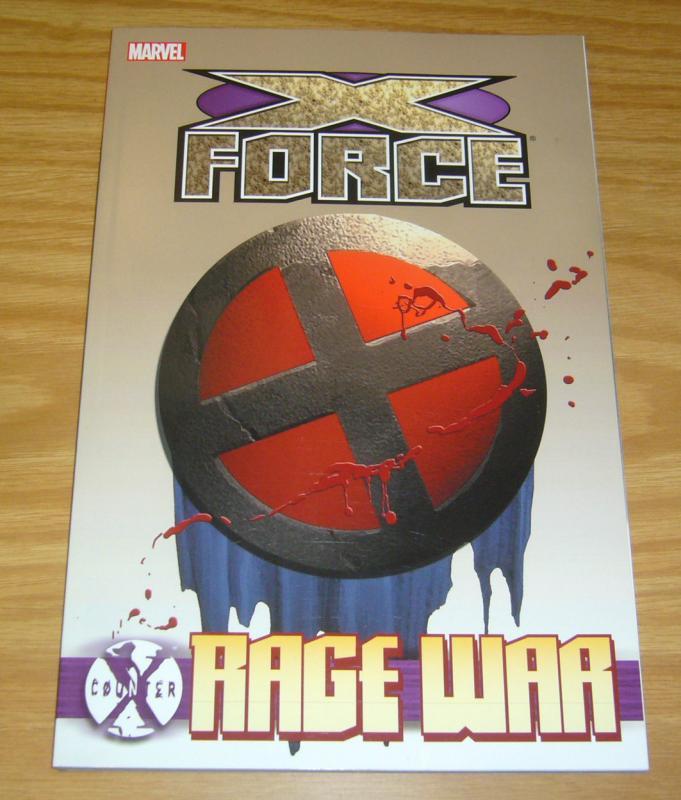 Counter X: X-Force - Rage War TPB VF/NM warren ellis collects 110-115 portacio