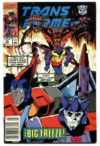 TRANSFORMERS #76 comic book Tough late issue-FN/VF