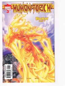 Human Torch # 1 NM Marvel Comic Book Burn Fantastic Four Invisible Woman S80