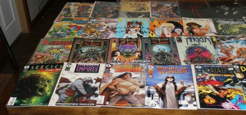 Medium Priority Mail Box Full of TOPPS IMAGE MALIBU DARK HORSE Comics Bulk Mixed