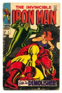 IRON MAN #2 1968-Robot cover-Marvel Comic Book g-