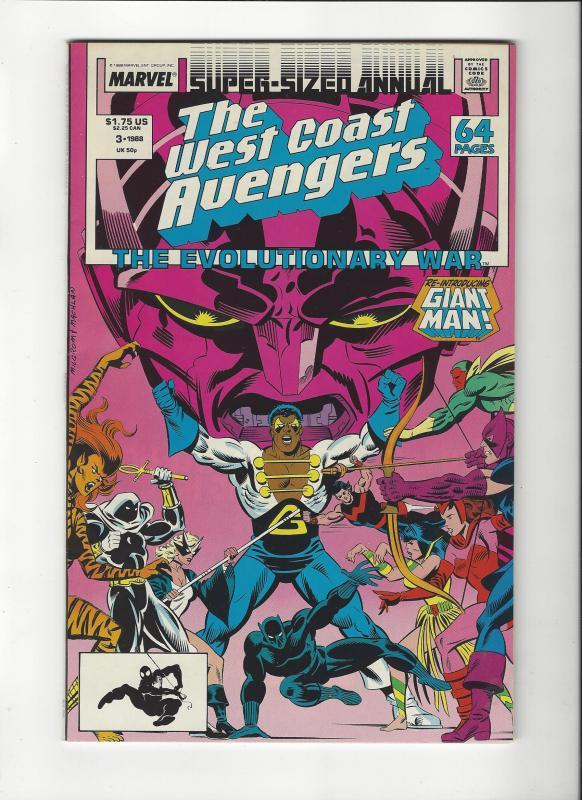 West Coast Avengers Ann.#3 Evolutionary WarNM