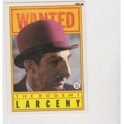 1990 Topps DICK TRACY-THE RODENT #11 Puzzle Sticker