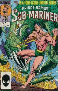 Marvel PRINCE NAMOR THE SUB-MARINER #1 VF/NM