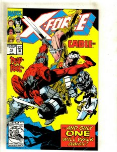 X-Force # 15 NM Marvel Comic Book Deadpool X-Men Wolverine Cable Domino HJ9