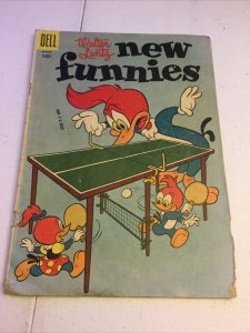 Walter Lantz New Funnies 222 Gd+ Good+ 2.5 Dell Comics Golden Age