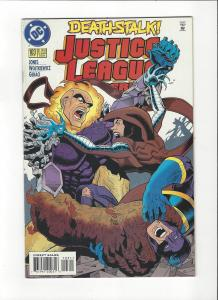 Justice League America #103 1987 DC Comics Copper Age  NM