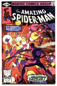 AMAZING SPIDER-MAN #203-1980-DAZZLER-MARVEL--vf