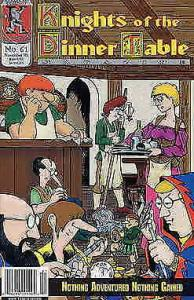 Knights of the Dinner Table #61 VF/NM; Kenzer and Company   save on shipping - d