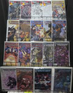 TRANSFORMERS IDW COLLECTION! 19 ISSUES! VARIANTS! INFILTRATION! VF-NM/Bag/boards