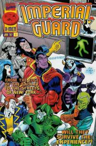 Imperial Guard #1 FN; Marvel | save on shipping - details inside