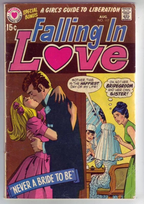 Falling in Love #117 (Aug-70) VG/FN Mid-Grade