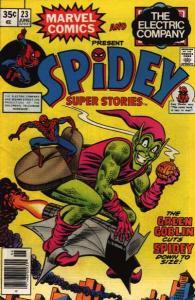 Spidey Super Stories #23, VF+ (Stock photo)
