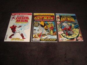 LOT OF 10 MODERN ANT MAN COMICS