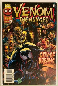 Venom the hunger #1 8.0 VF (1996)