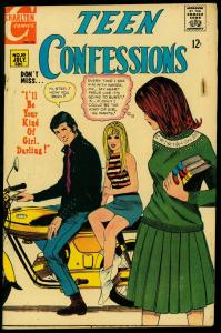 Teen Confessions #50 1968- Motorcycle cover- Romance VG