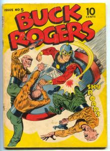 Buck Rogers #5 1942- Rare golden age comic- missing centerfold