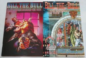 BILL THE BULL 1 SHOT 1 BOURBON 1 BEER (1992BONEYARD)1-2