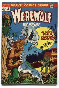 Werewolf By Night #5 comic book Marvel-Mike Ploog