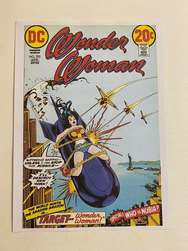 Wonder Woman #205 DC Comics poster by Nick Cardy
