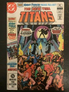 The New Teen Titans #21 - 1st Appearance of Brother Blood