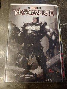 VENOMVERSE #1 (OF 5) COMICXPOSURE INYUK LEE EXCLUSIVE CABLE VENOMIZED VENOMVERS