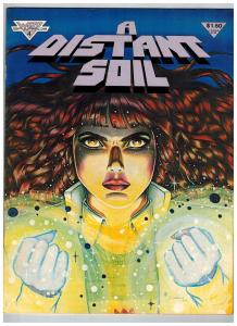 A Distant Soil # 4 VF Warp Graphics Comic Book Magazine Issue 1984 Series S74