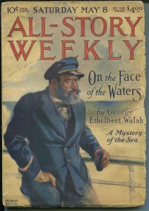 Argosy All-Story Weekly-5/8/1920-Munsey-Modest Steinn cover-pulp thrills-G/VG