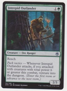 Magic the Gathering: Adventures in the Forgotten Realms - Intrepid Outlander
