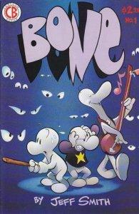 Bone #1 (ungraded) 6th Printing stock photo