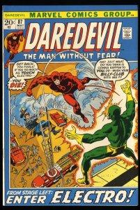 Daredevil #87 NM- 9.2 Marvel Comics