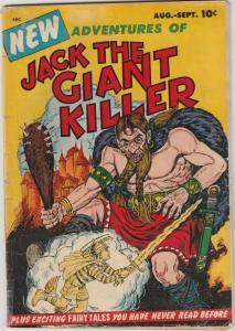 Jack The Giant Killer #1 (Aug-53) VG Affordable-Grade Jack The Giant Killer
