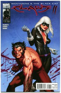 CLAWS #1 Vol 2, NM, Joseph Linsner, Wolverine, Black Cat, 2011,more JML in store