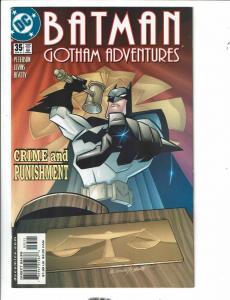 Batman Gotham Adventures # 35 NM DC Comic Book Harley Quinn Batman Joker TD1