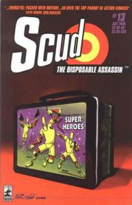 Scud: The Disposable Assassin #13 VF; Fireman | save on shipping - details insid